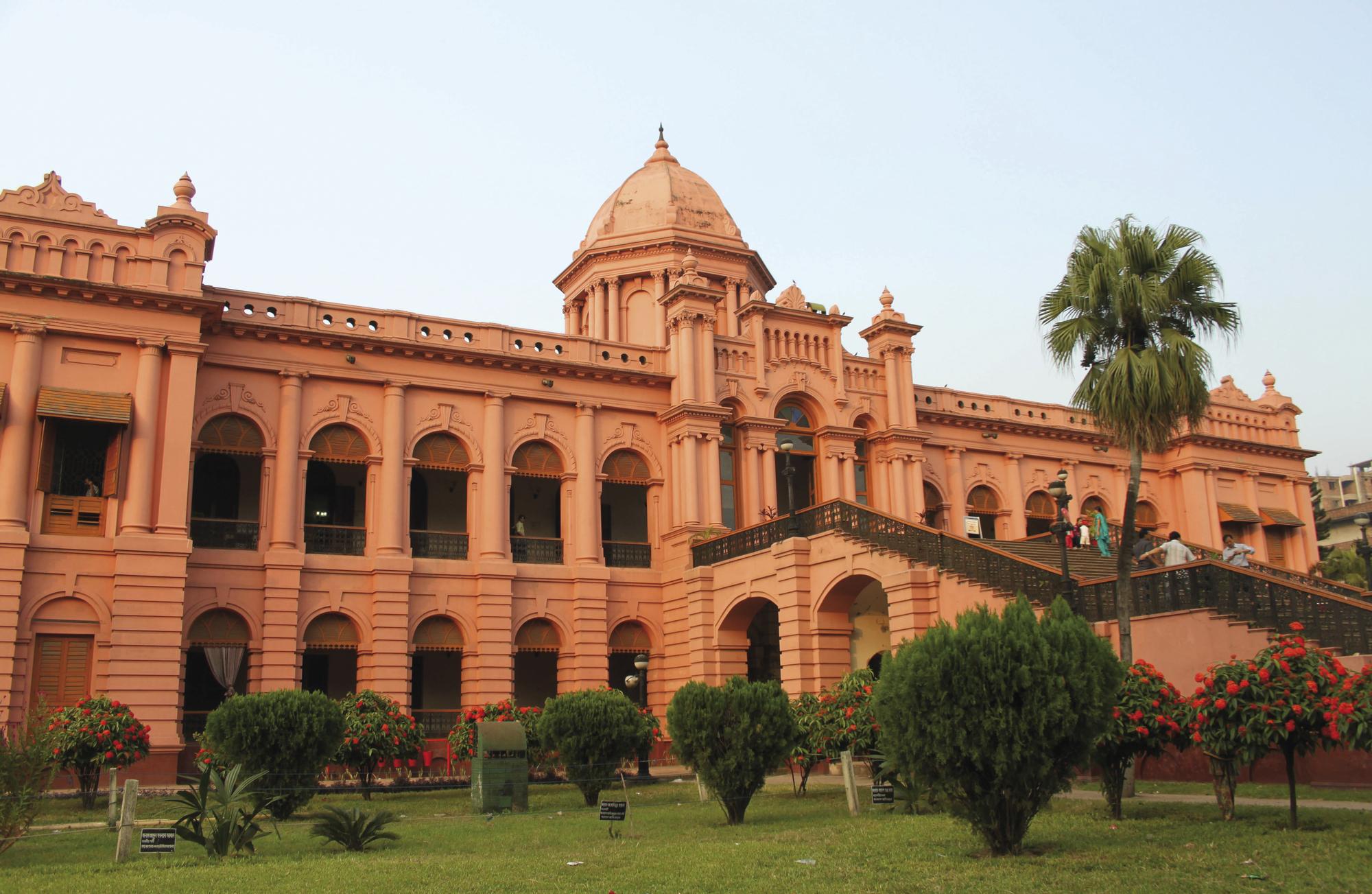 'The Pink Palace', der Ahsan Manjil in Dhaka