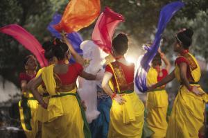 Farbenfrohe Feste - Dhaka