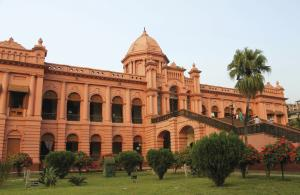 'The Pink Palace', der Ahsan Manjil in Dhaka