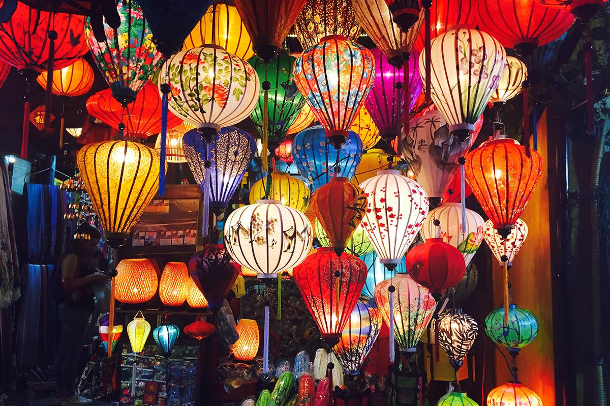 Das Zentrum Vietnams