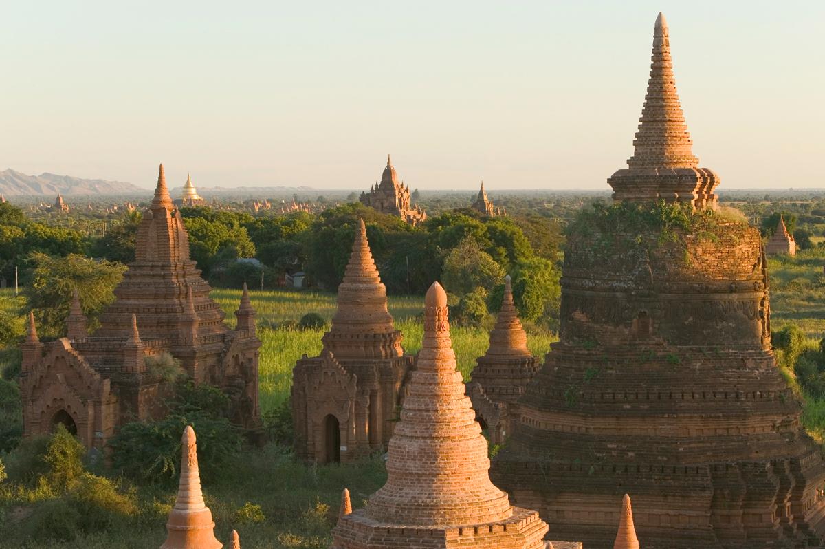 Glanzlichter Myanmars  -  Privat