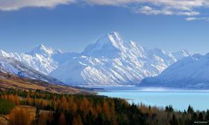 Aoraki ist der Name des Mt. Cook für die Maoris
