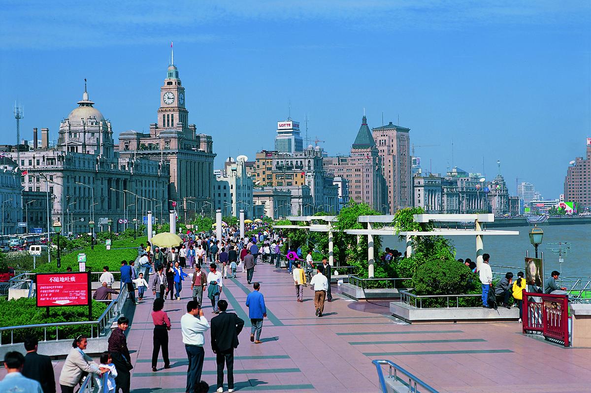 Historische Plätze in China  -  privat