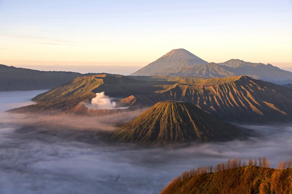 Indonesien | Kalimantan • Java • Bali • Komodo NP - Orang-Utans, Drachen und Vulkane