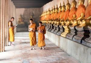 Mönche, Kambodscha (© Pixabay)