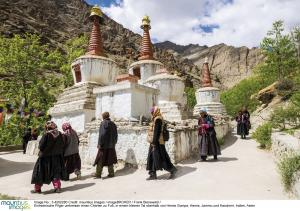 Pilger in Ladakh