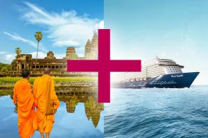 Meeresbrise und Kambodscha (9 + 7 Tage)