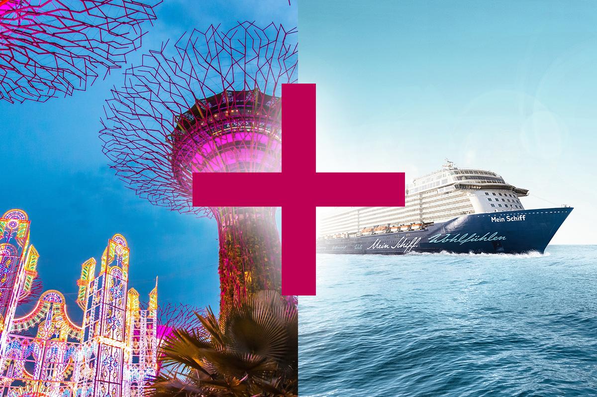 Meeresbrise und Singapur (9 + 5 Tage)