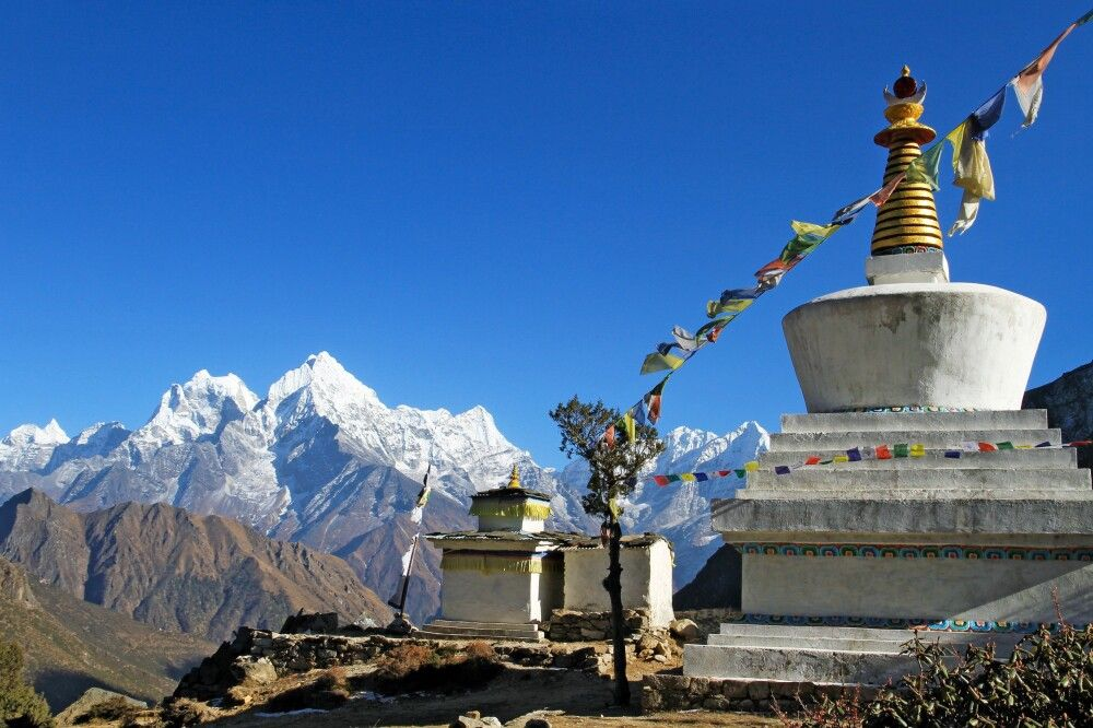 Nepal - Drei-Pässe-Runde im Everest-Gebiet