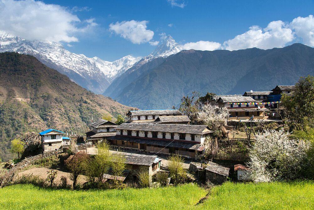 """Nepal - Mit den """"Zwergen"""" zu den Bergen"""