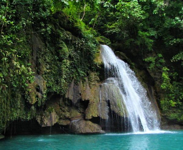 Die Kawasan Wasserfälle, Cebu