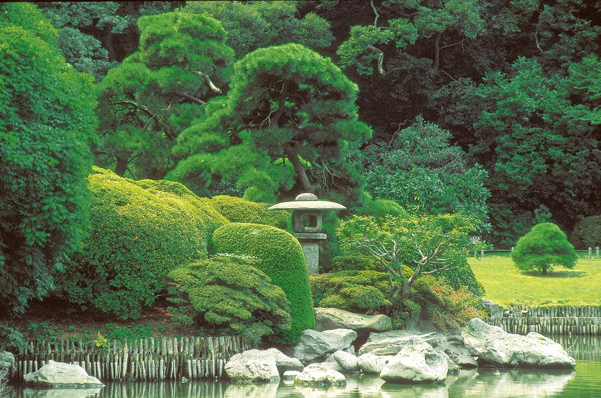 Prachtvolle Tempel  -  himmlische Gärten