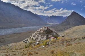 Spektakulär gelegen: Kloster Kye