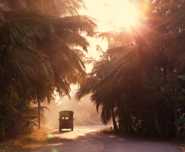 Stra?e in Sri Lanka