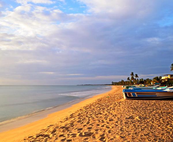 Strand an der Ostk?ste Sri Lankas