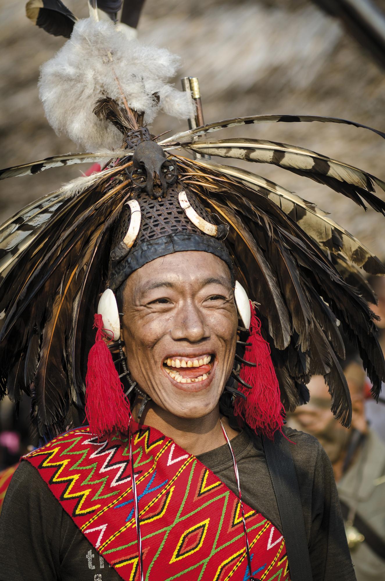 Stamm der Konyak