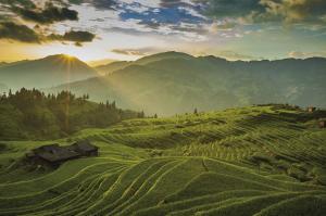 Traumhaftes Panorama in Guizhou