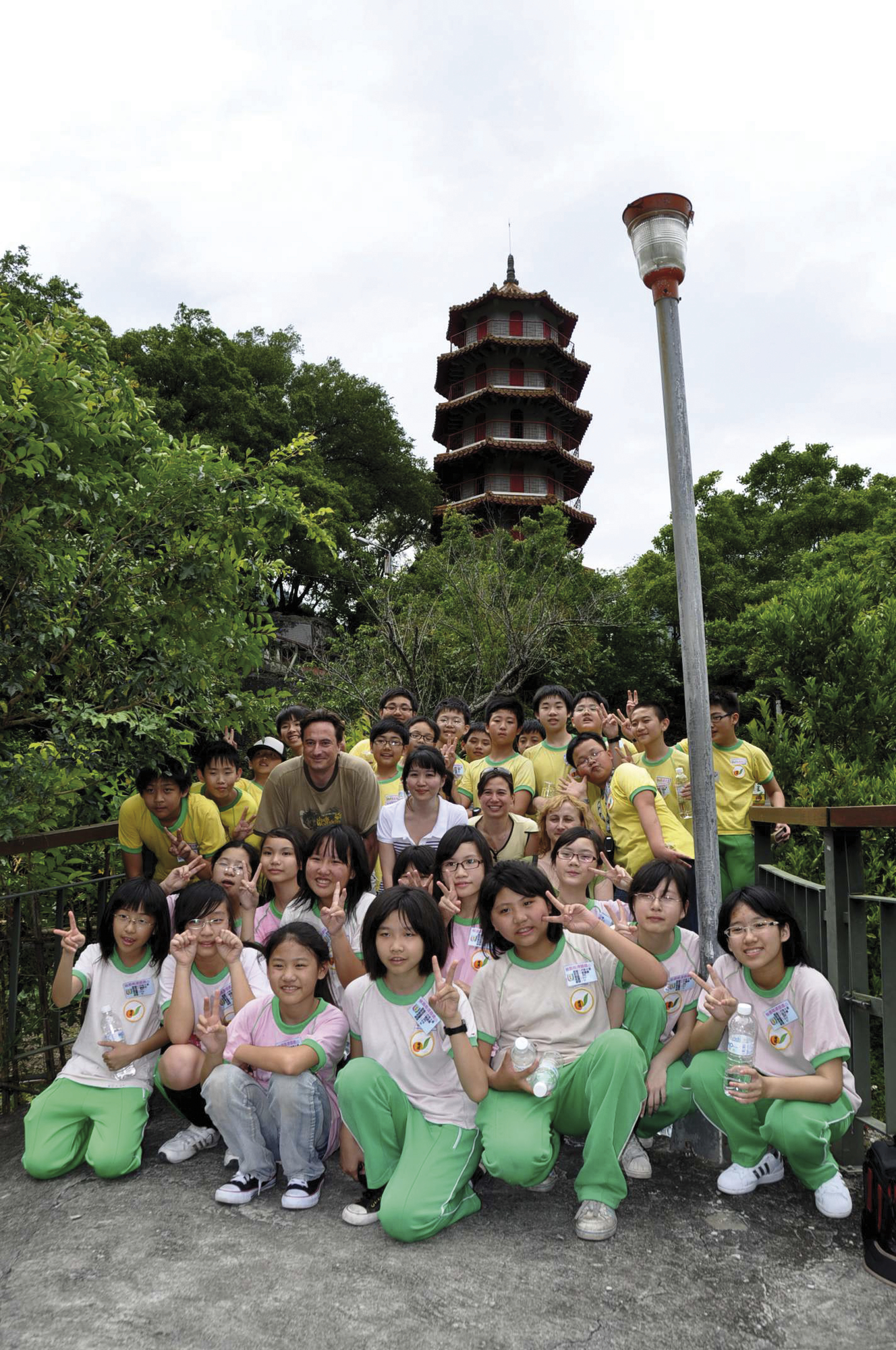 Begegnung in Taiwan