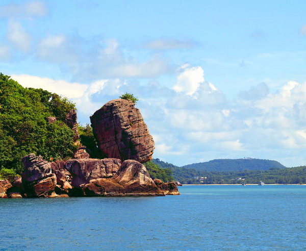 Felsformation auf Phu Quoc