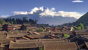 Lijiang, mit Jade-Drachen-Schneeberg