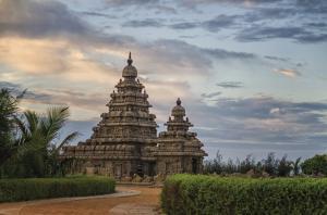 Shore-Tempel (Küstentempel) von Mamallapuram